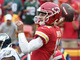 Watch: Alex Smith drops pass in Chris Conley's basket