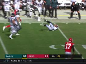Watch: Eagles recover onside kick with seven seconds remaining
