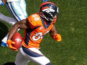 Demaryius Thomas takes off down the sideline for 27 yards