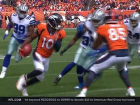 Emmanuel Sanders breaks tackle, sprints for 25 yards
