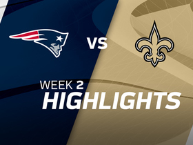 Patriots vs. Saints highlights | Week 2