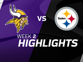 Vikings vs. Steelers highlights | Week 2