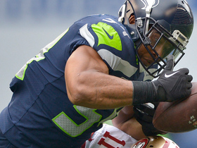 Watch: Bobby Wagner picks off Brian Hoyer, fumbles, Richard Sherman recovers for Seahawks