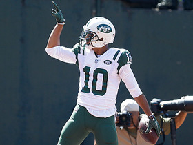 Watch: Kearse scores first TD since rejoining Jets on a dime from McCown