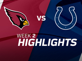 Cardinals vs. Colts highlights | Week 2