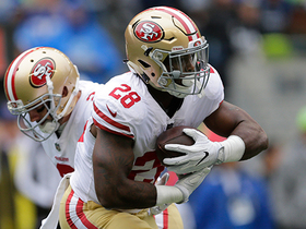 Watch: Carlos Hyde puts the spin move on defenders and picks up 27 yards