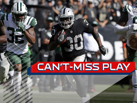 Watch: Can't-Miss Play: Jalen Richard beats defenders for 52-yard touchdown