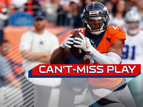 Can't-Miss Play: Chris Harris zig zags on INT off Dez's hands