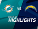 Watch: Dolphins vs. Chargers highlights | Week 2