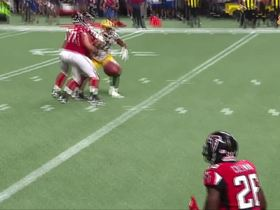 Watch: Tevin Coleman gets WIDE OPEN for 3-yard TD pass from Matt Ryan
