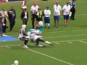 Jahleel Addae makes heads-up play to force incompletion