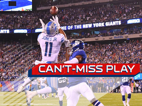 Can't-Miss Play: Matthew Stafford lofts it up to Marvin Jones for 27-yard TD