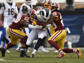 Zach Brown: Redskins could be one of the best defenses on third down
