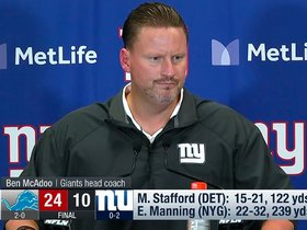 Watch: Postgame Presser: Head Coach Ben McAdoo