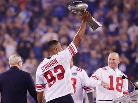 Watch: Halftime Ceremony: Giants Honor Super Bowl XLII Champions