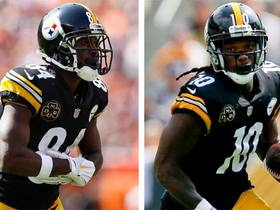 Watch: DDFP: How to handle Antonio Brown and Martavis Bryant