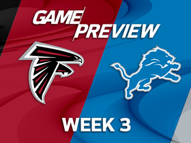 Watch: Falcons vs. Lions Week 3 game preview