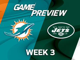 Watch: Dolphins vs Jets Week 3 game preview