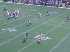 Watch: freeD: David Njoku 23-yard TD