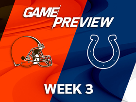 Watch: Browns vs. Colts Week 3 game preview