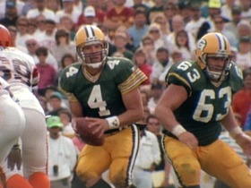 Watch: 1992 Brett Favre leads Packers to victory over Bengals