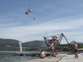 Watch: People Are Awesome: Flip and Catch