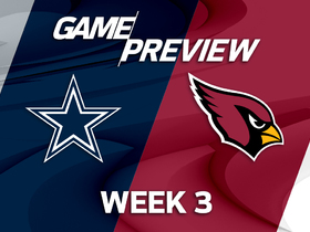 Watch: Cowboys vs. Cardinals preview | 'NFL Playbook'