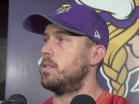 Watch: Keenum: Offense Has Work Cut Out For It This Week vs. Tampa