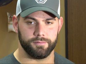 Watch: Guard Justin Pugh discusses going up against challenging Eagles front four