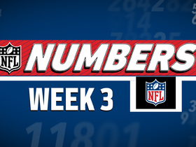 Watch: NFL NUMBERS - WEEK 3