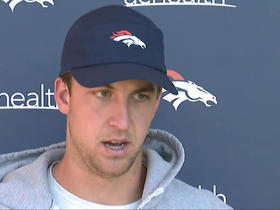 Watch: Siemian: I want to get our playmakers the ball and 'get out of the way'