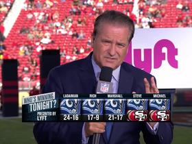Watch: Who's winning tonight: Rams or 49ers?