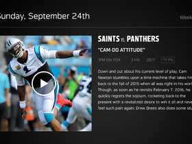 Watch: DDFP: Saints vs Panthers Week 3 preview