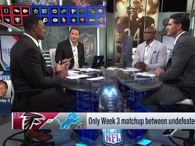 Watch: Do Lions or Falcons have the edge between last undefeated teams?