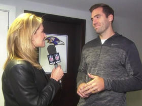 Watch: Joe Flacco: Ravens defense is playing very well