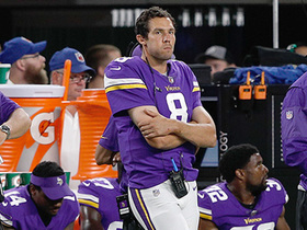 Watch: Vikings quarterback Sam Bradford ruled out for Week 4