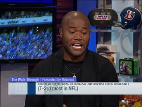 Watch: Robinson on Giants: 'You cannot win without an offensive line'