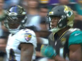 Keelan Cole rips ball from defender to complete 13-yard catch