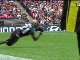 Watch: A.J. Bouye breaks up pass, picks off Joe Flacco