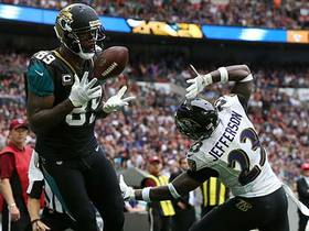 Watch: Marcedes Lewis grabs 3rd TD of the game