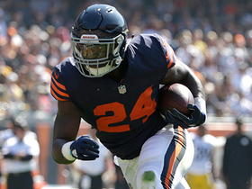 Watch: Bears RB Jordan Howard rushes for 3-yard TD