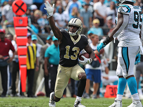 Watch: Michael Thomas makes kneeling catch for first touchdown of the game