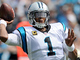 Watch: Curtis Samuel catches flick from Cam Newton and bolts for 31 yards