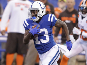 Watch: T.Y. Hilton hauls in the 31-yard pass over the middle from Brissett.