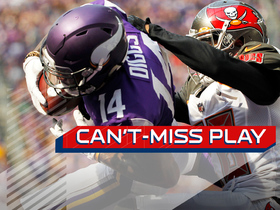 Watch: Can't-Miss Play: Diggs GETS UP and over a defender for TD
