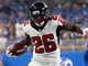 Watch: Tevin Coleman sprints down sideline on 27-yard catch and run