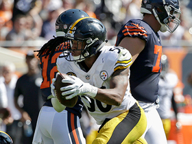 Watch: Ryan Shazier recovers Jordan Howard fumble
