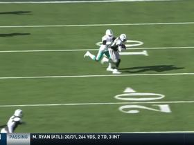 Watch: Terrence Brooks hauls in second interception of the day