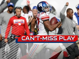 Watch: Can't-Miss Play: Sterling Shepard goes untouched for 77-yard TD