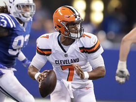 DeShone Kizer shows off a wicked fake on 13-yard scramble